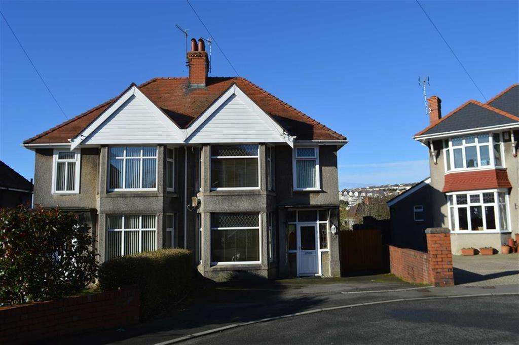 3 Bedrooms Semi Detached House for sale in Llwyn Arosfa, Swansea, SA2