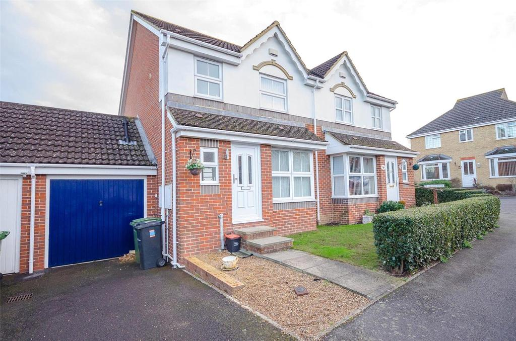 4 Bedrooms Semi Detached House for sale in Braunstone Drive, Maidstone, Kent, ME16