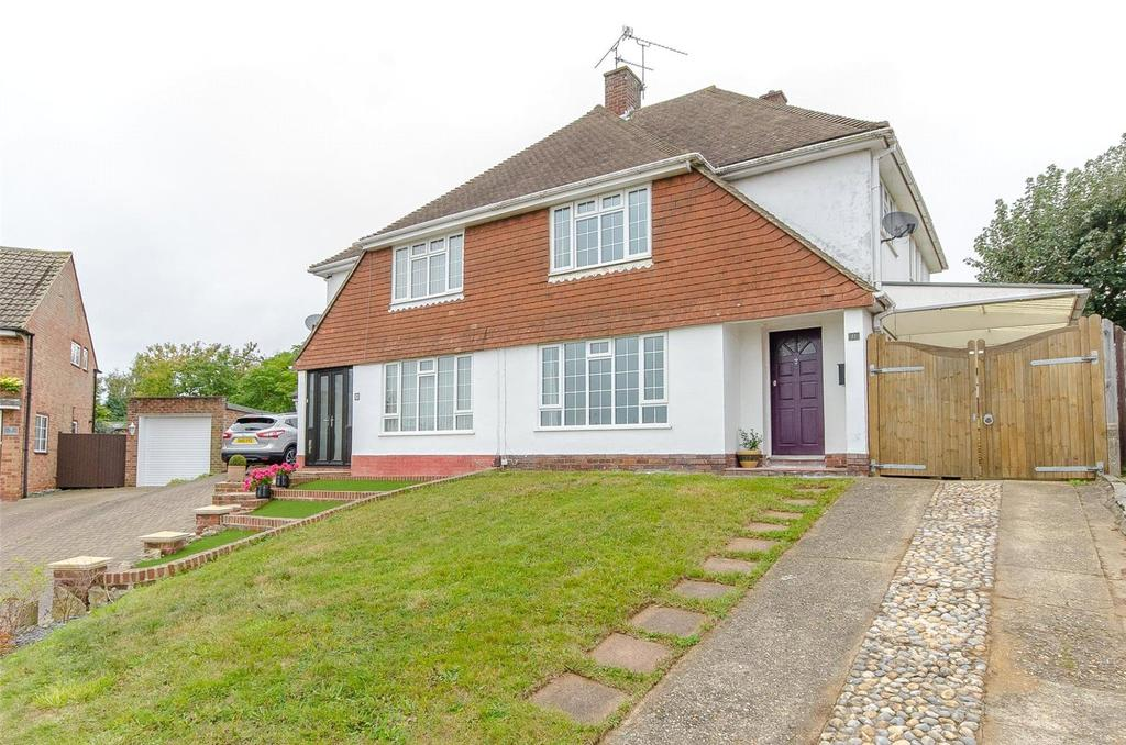 3 Bedrooms Semi Detached House for sale in Plumtrees, Maidstone, Kent, ME16