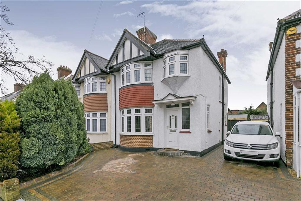 3 Bedrooms Semi Detached House for sale in River Way, Ewell Court, Surrey
