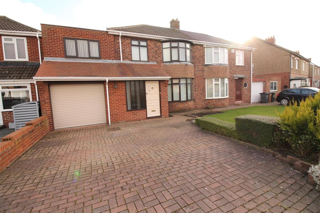 4 Bedrooms Semi Detached House for sale in Birchwood Avenue, Wideopen, Newcastle Upon Tyne