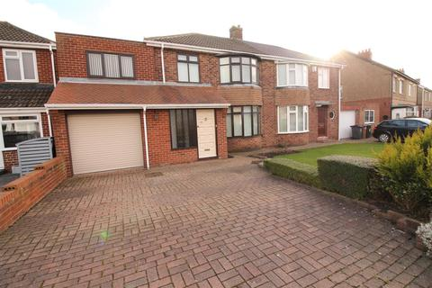 4 bedroom semi-detached house for sale - Birchwood Avenue, Wideopen, Newcastle Upon Tyne
