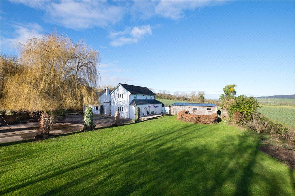 5 Bedrooms Detached House for sale in Portway, Burghill, Hereford, HR4
