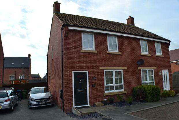 2 Bedrooms Semi Detached House for sale in Finch Road, Kibworth Harcourt, Leicester, LE8