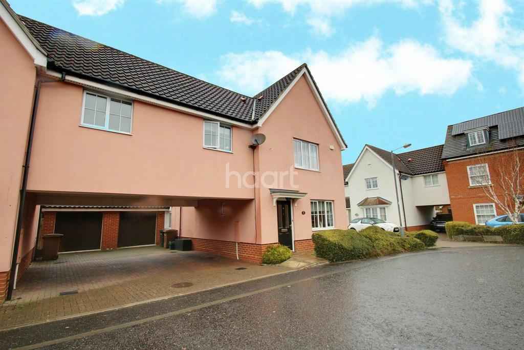 3 Bedrooms Detached House for sale in Tapley Road, Chemsford