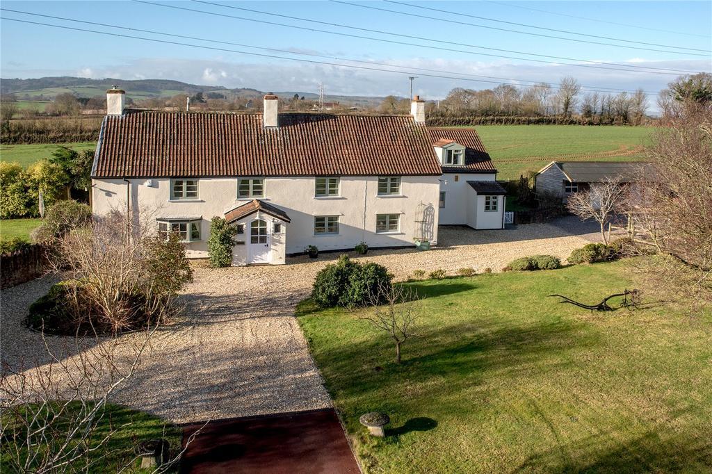 5 Bedrooms Detached House for sale in Enmore, Bridgwater, Somerset