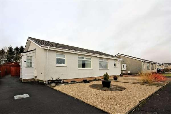 3 Bedrooms Semi Detached Bungalow for sale in 17 Furnace Court, Hurlford, Kilmarnock, KA1 5HA