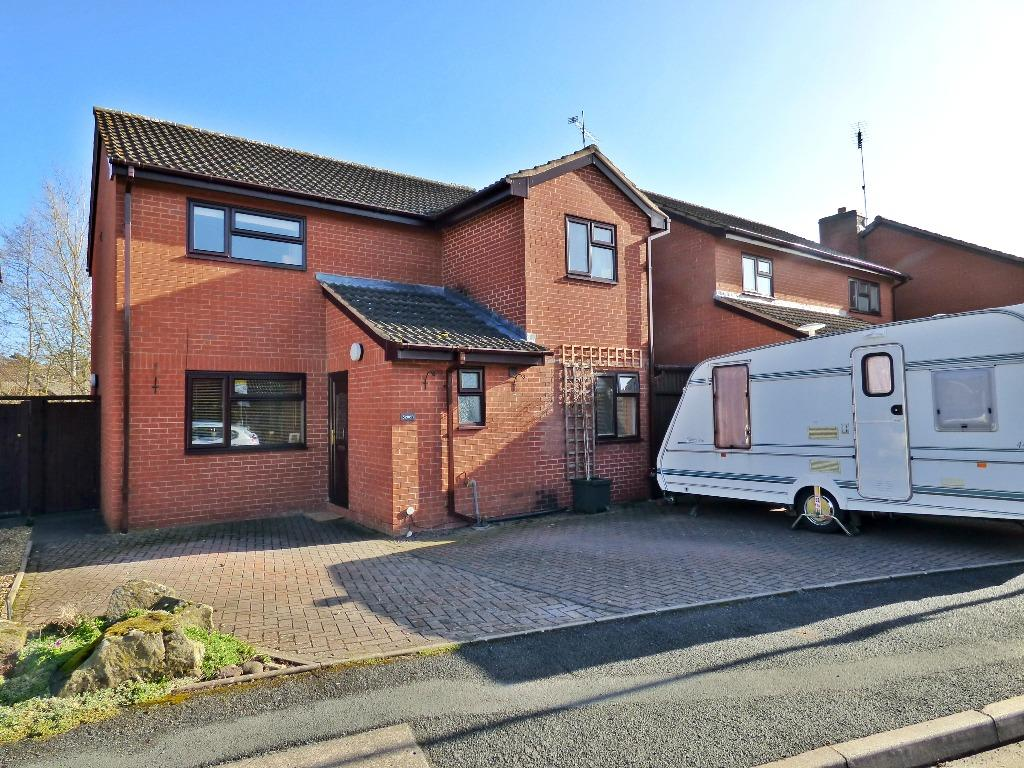 4 Bedrooms Detached House for sale in Meadow Bank Road, Off Ledbury Road, Hereford