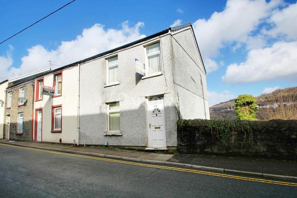 3 Bedrooms End Of Terrace House for sale in Wood Road, Treforest