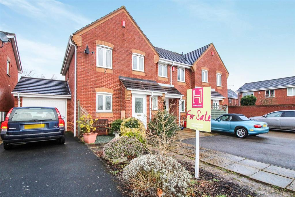 3 Bedrooms End Of Terrace House for sale in Portia Way, Heathcote, Warwick