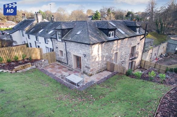 4 Bedrooms End Of Terrace House for sale in The Mill House Garscube Mill, Bearsden, G61 1QR