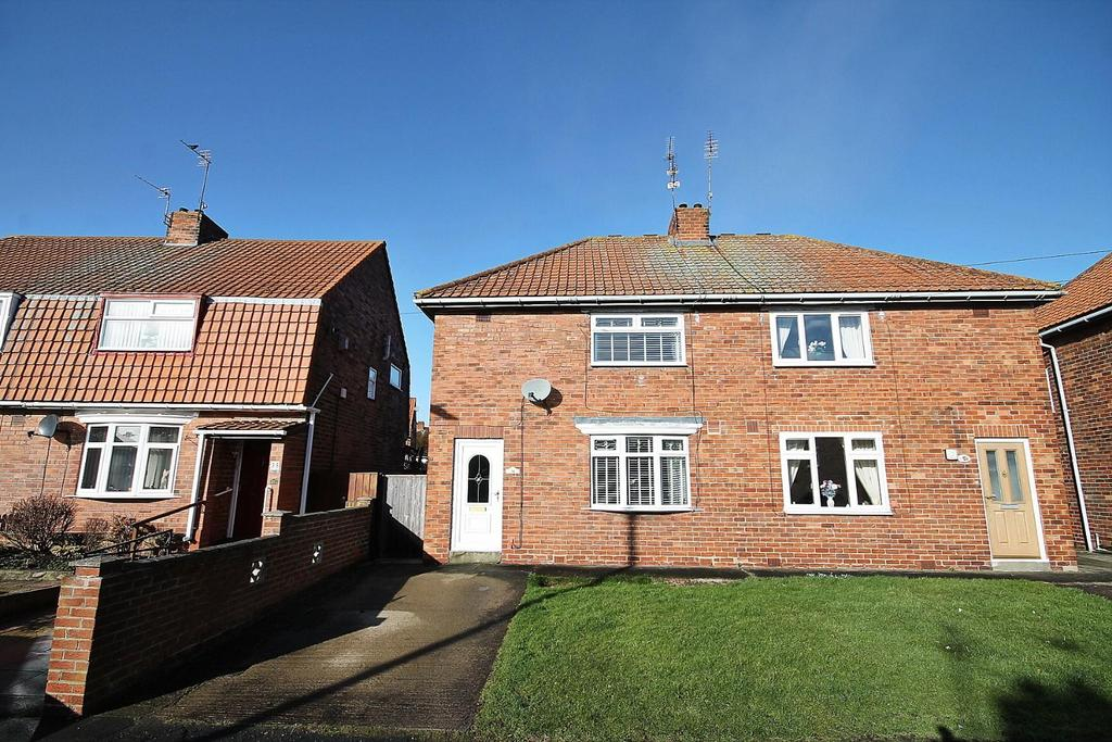 2 Bedrooms Semi Detached House for sale in Westmorland Place, Willington, Crook