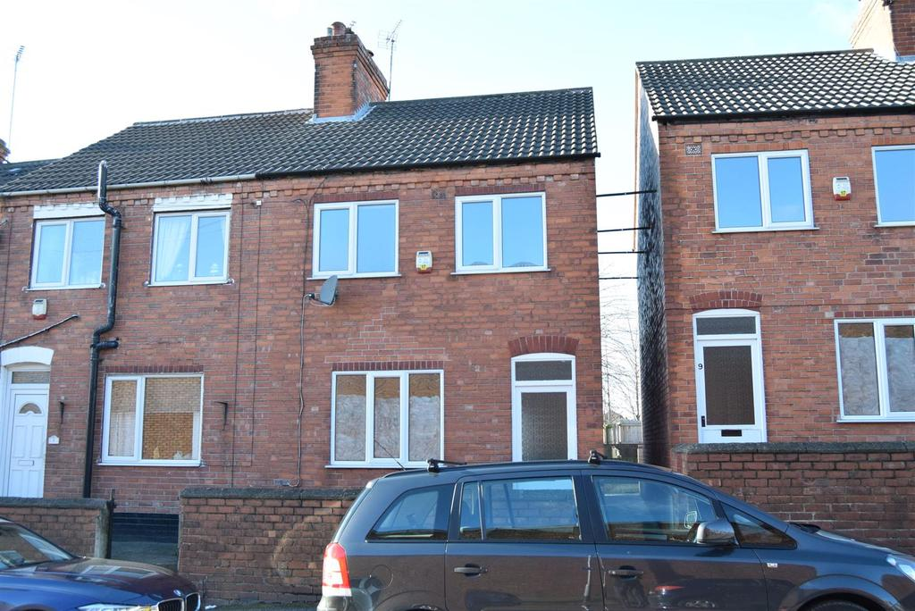 2 Bedrooms End Of Terrace House for sale in Recreation Street, Mansfield