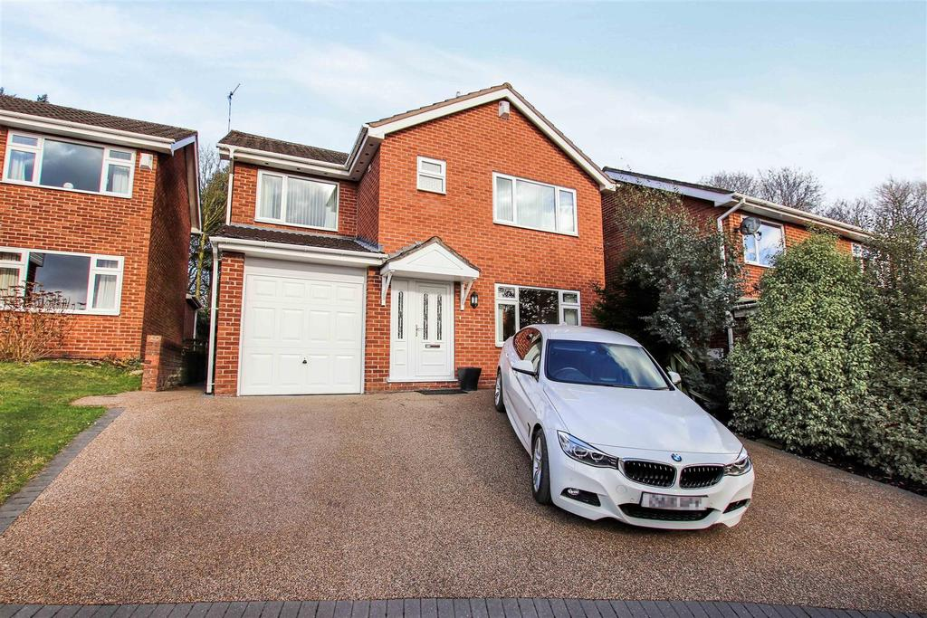 4 Bedrooms Detached House for sale in Hillwood Road, Madeley Heath, Nr Crewe, Cheshire
