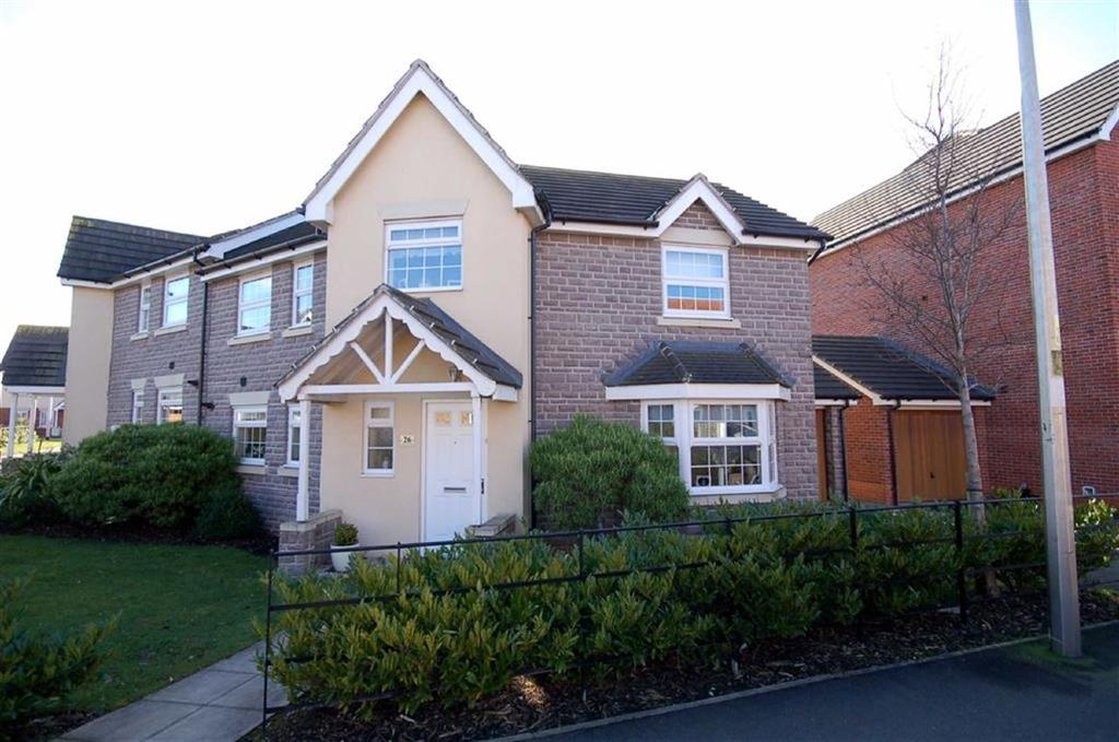 3 Bedrooms Semi Detached House for sale in Abbey Park Way, Wychwood Village, Weston