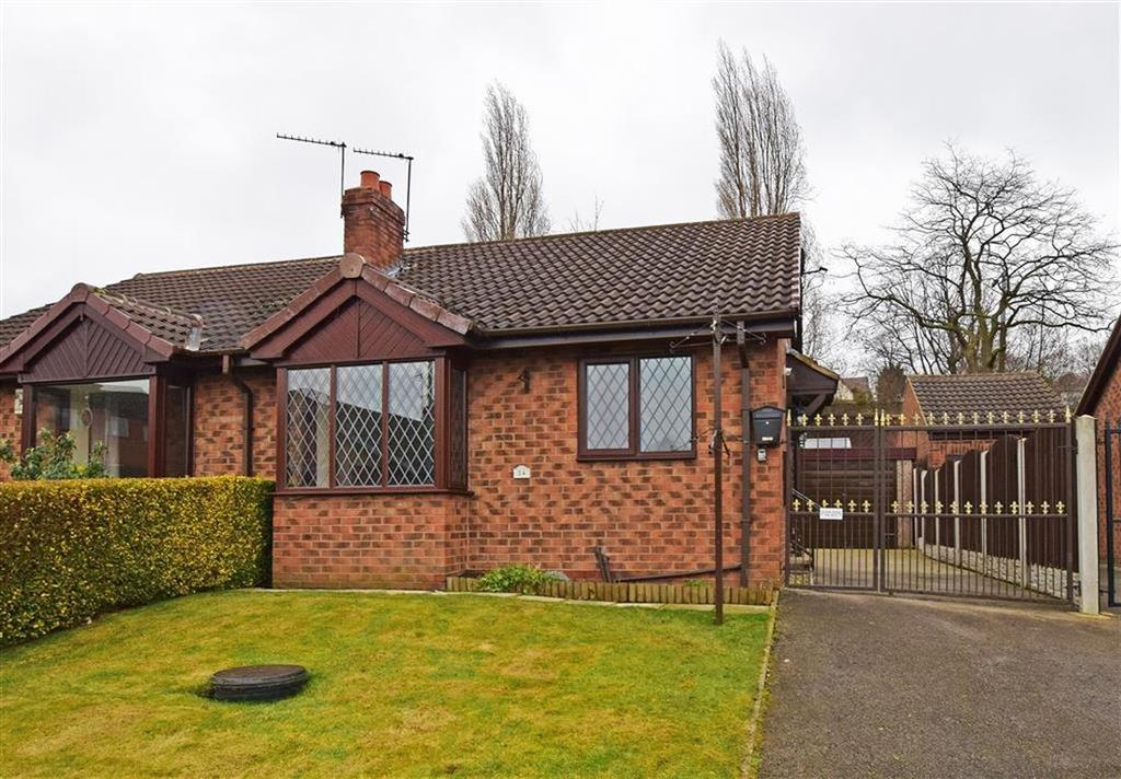 2 Bedrooms Semi Detached Bungalow for sale in Castle Close, Monk Bretton, Barnsley, S71