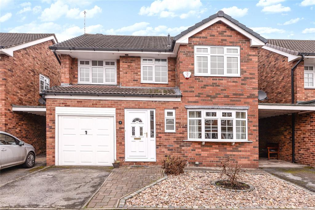 4 Bedrooms Detached House for sale in Moorfield Drive, Wilmslow, Cheshire, SK9