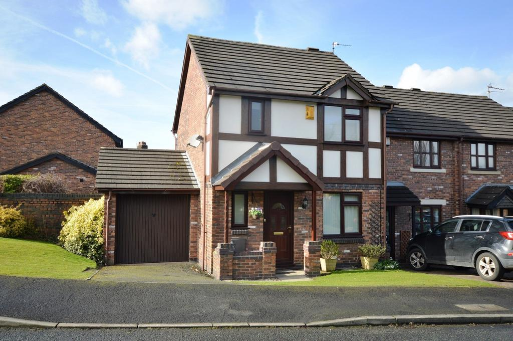 3 Bedrooms Link Detached House for sale in Ridgeway Gardens, Lymm