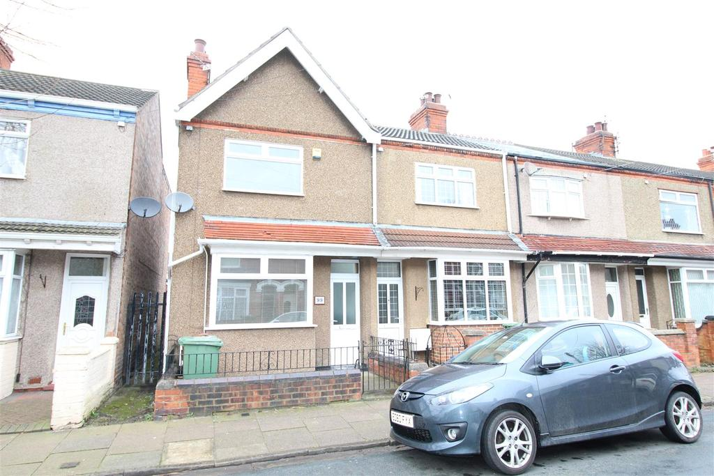 2 Bedrooms End Of Terrace House for sale in Fairmont Road, Grimsby