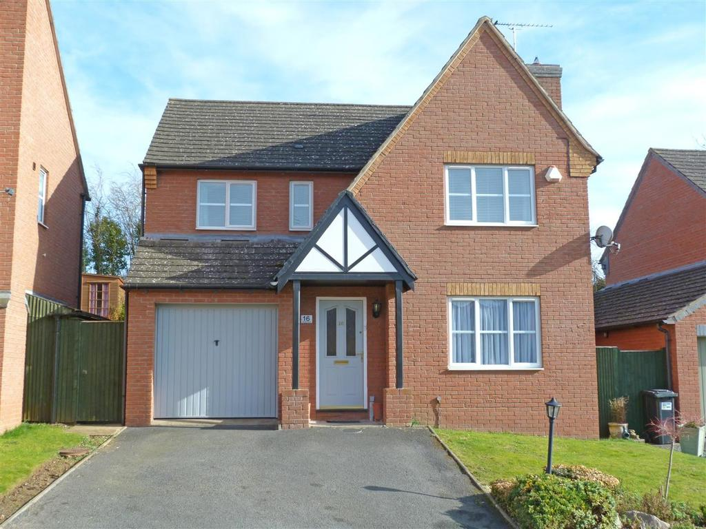 4 Bedrooms Detached House for sale in Frome Park, Bartestree, Hereford, HR1