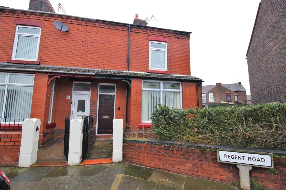 3 Bedrooms End Of Terrace House for sale in Regent Road, WIDNES, Cheshire