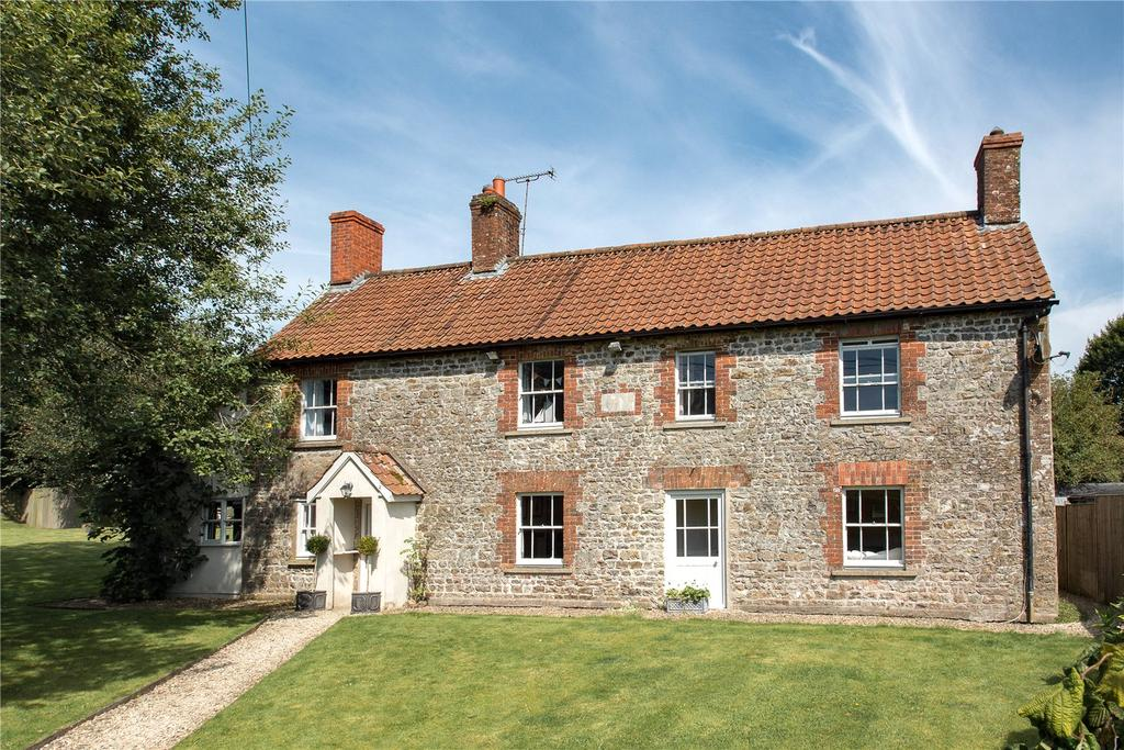 5 Bedrooms Detached House for sale in Church Road, Kilmington, Wiltshire, BA12