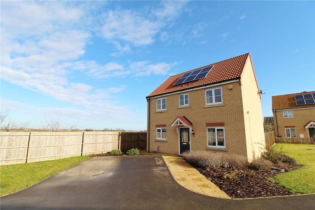 4 Bedrooms Detached House for sale in Braeburn Road, Deeping St. James, Peterborough, PE6