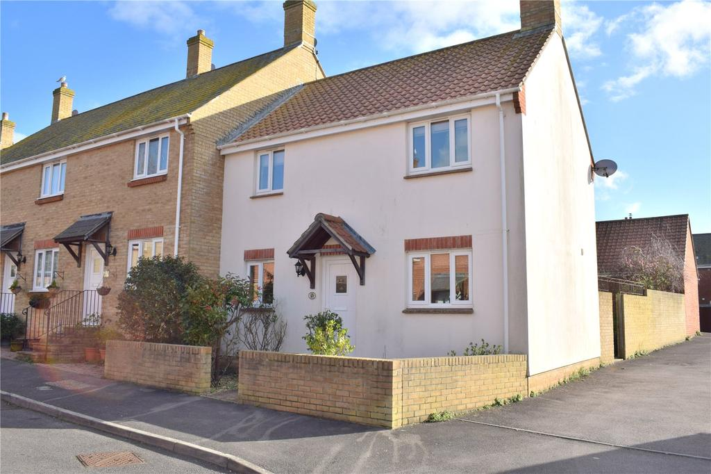 3 Bedrooms End Of Terrace House for sale in Foxglove Way, Bridport, Dorset