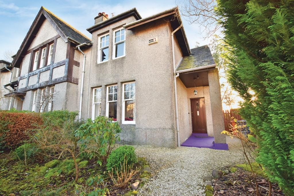 2 Bedrooms End Of Terrace House for sale in 31 North View, Bearsden, G61 1NY