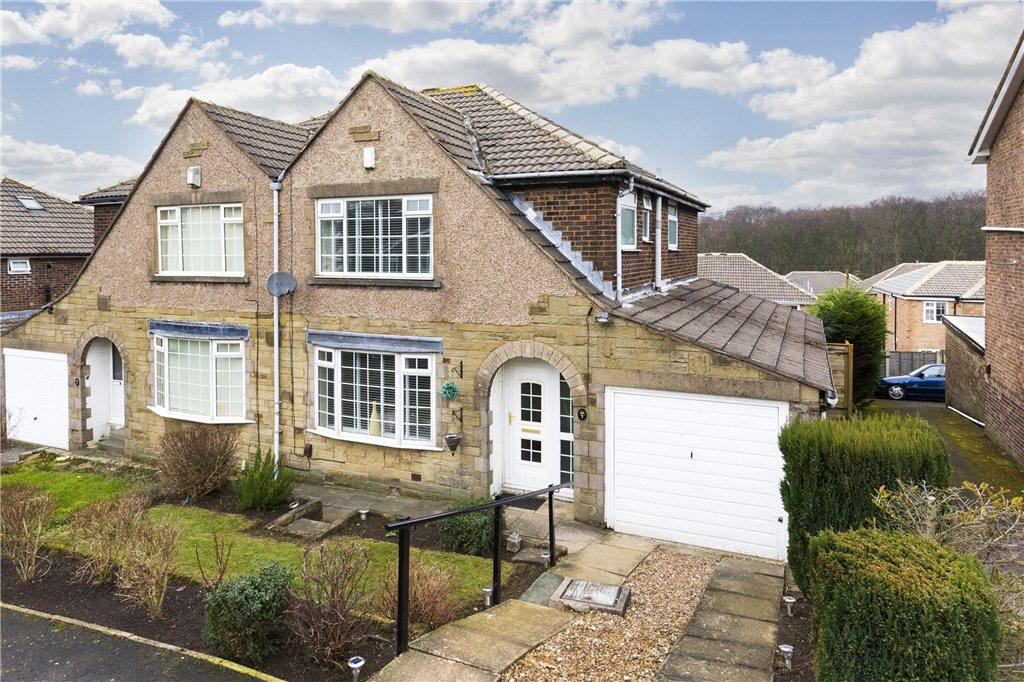 3 Bedrooms Semi Detached House for sale in Deanwood Crescent, Allerton, Bradford, West Yorkshire