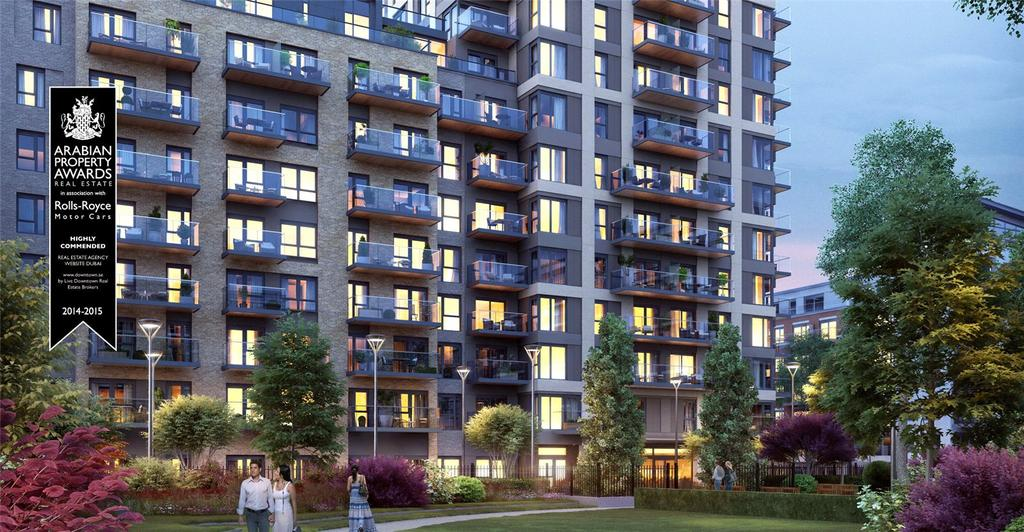3 Bedrooms Flat for sale in Capri House, Beaufort Park, London, NW9