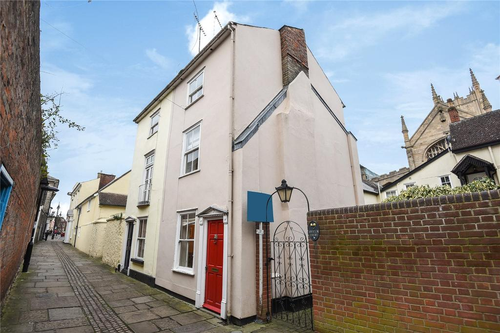 1 Bedroom Semi Detached House for sale in Athenaeum Lane, Bury St Edmunds, Suffolk, IP33