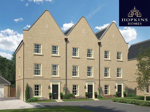 3 Bedrooms Terraced House for sale in Alconbury Weald, Alconbury, Huntingdon, Cambridgeshire, PE28