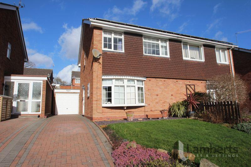 3 Bedrooms Semi Detached House for sale in Salford Close, Redditch