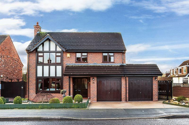 3 Bedrooms Detached House for sale in Linksway, Congleton