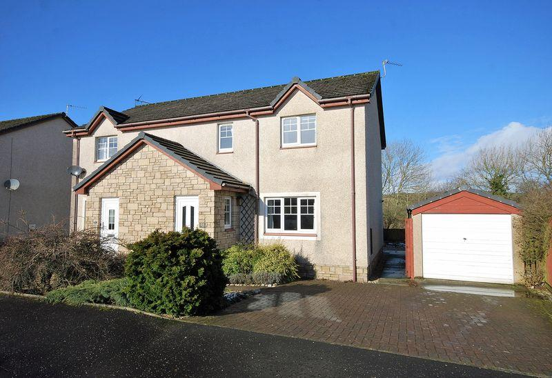3 Bedrooms Semi-detached Villa House for sale in 13 Purclewan Crescent, Dalrymple, KA6 6HZ