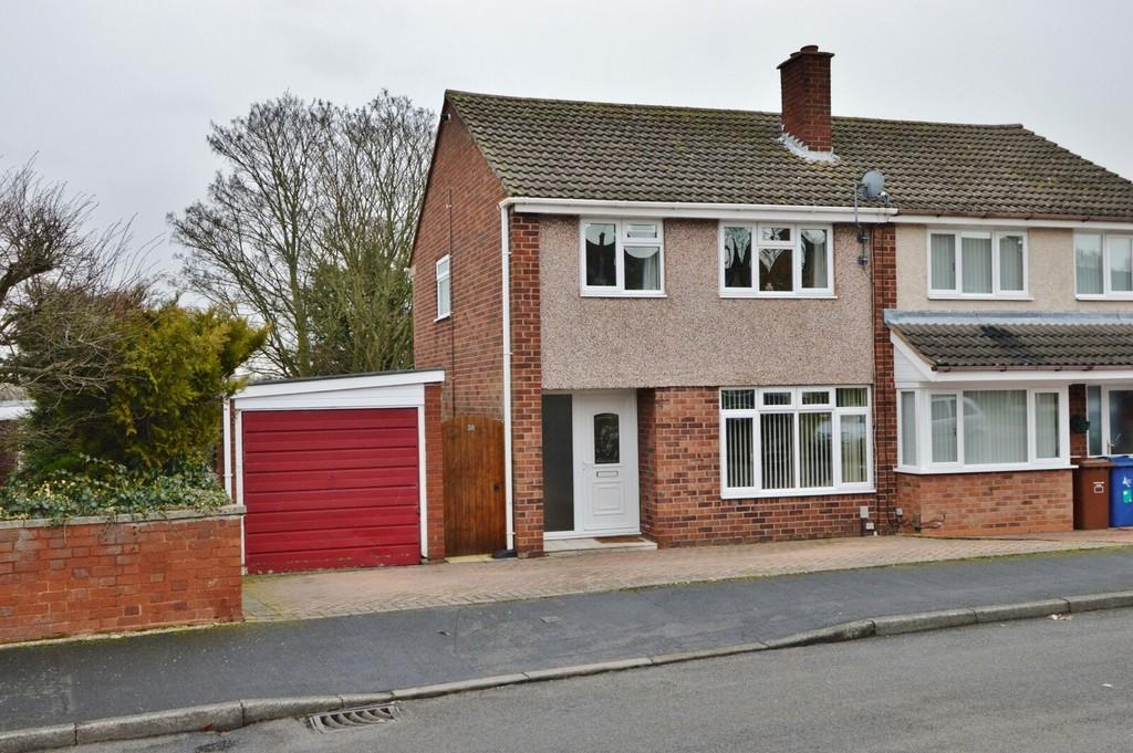 3 Bedrooms Semi Detached House for sale in Old Eaton Road, Rugeley
