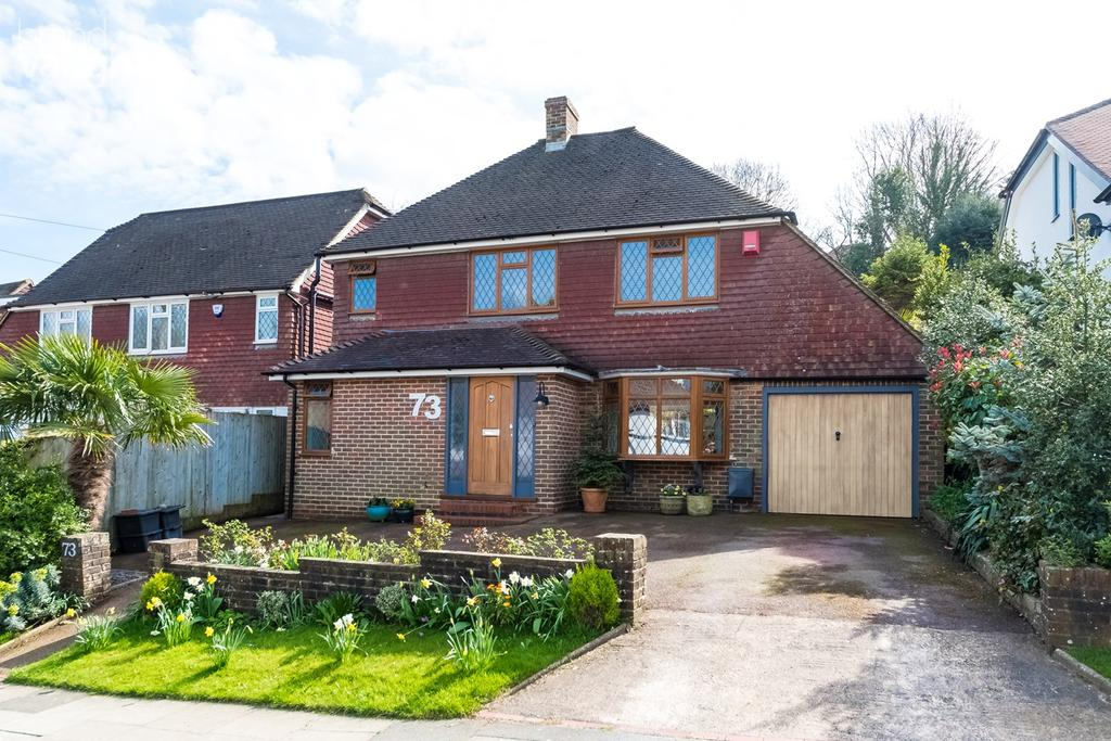 3 Bedrooms Detached House for sale in Valley Drive, Brighton, BN1