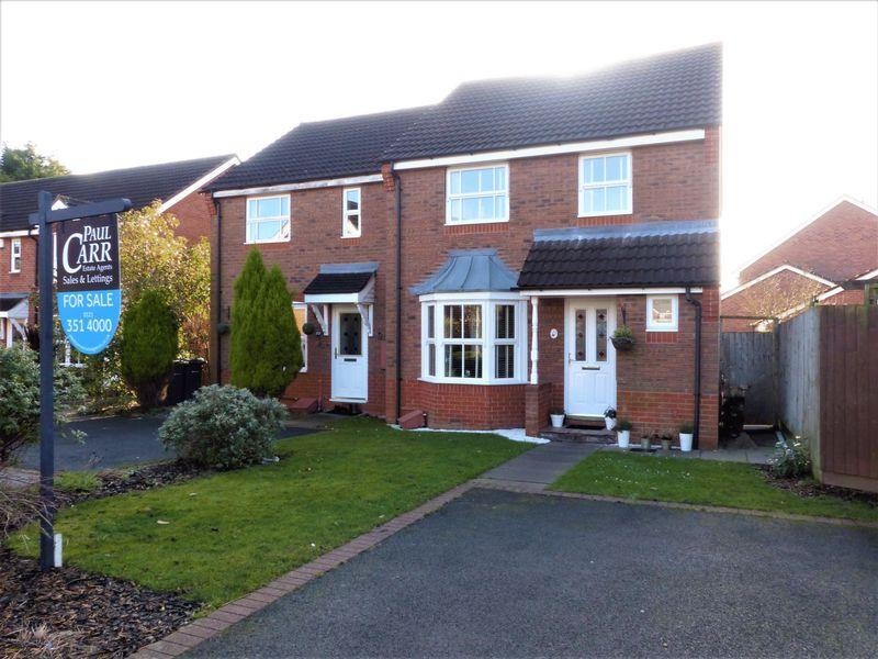 3 Bedrooms Semi Detached House for sale in Rowan Close, Sutton Coldfield