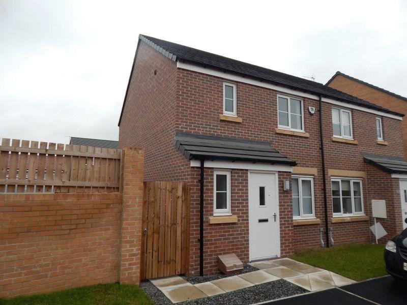 3 Bedrooms Semi Detached House for sale in Kershope Lane, Crofton Grange, Blyth