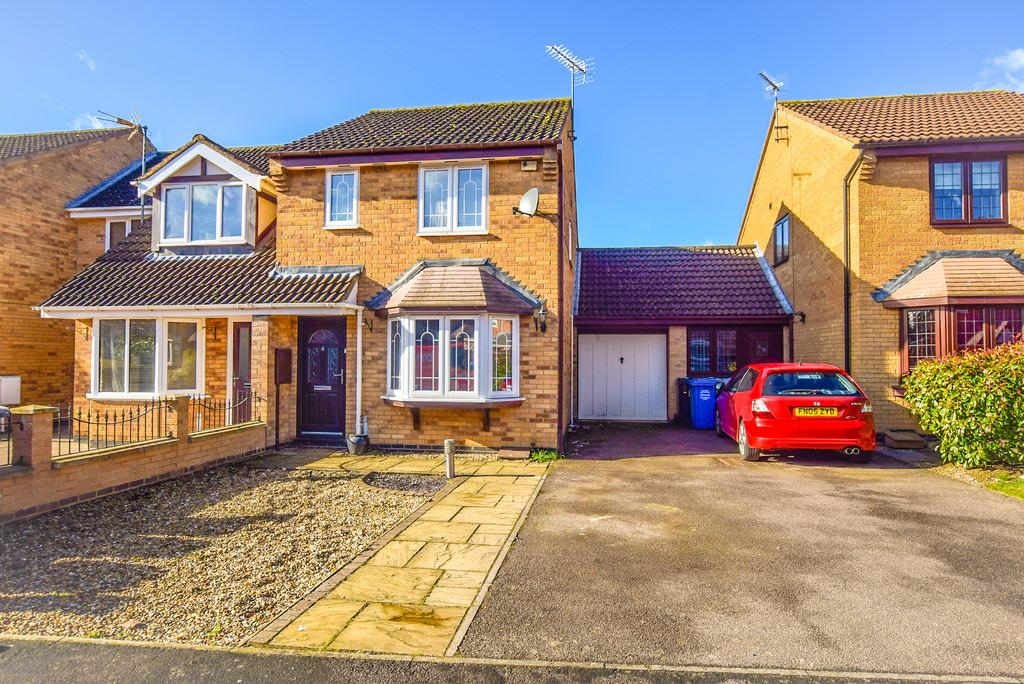 3 Bedrooms Semi Detached House for sale in John Clare Court, Kettering