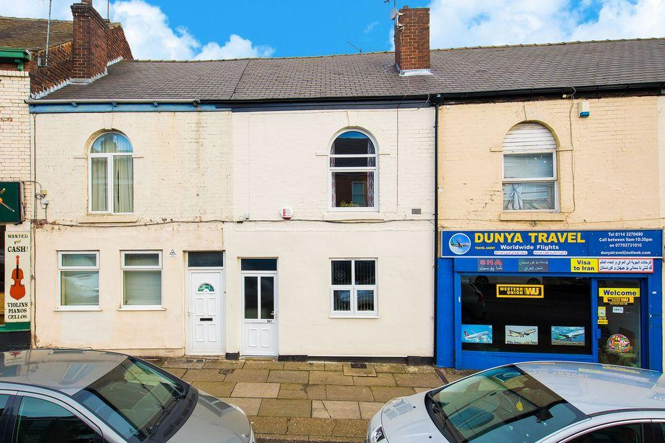 2 Bedrooms Terraced House for sale in London Road, Sheffield S2 4NG