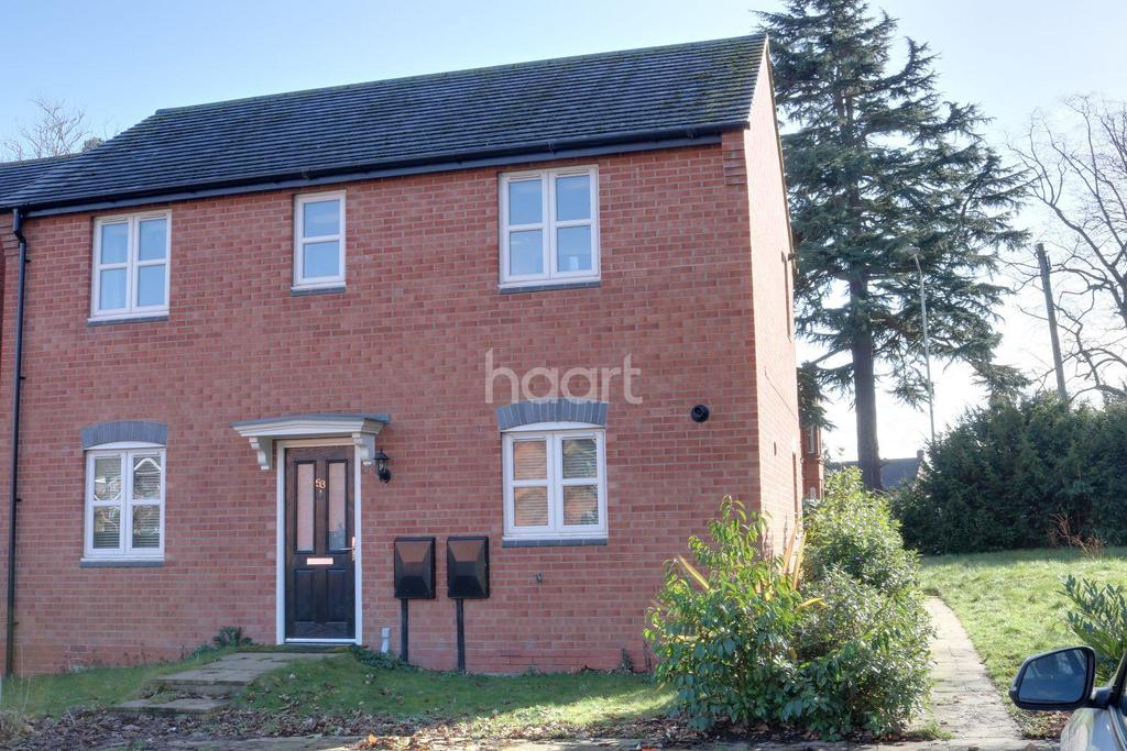 1 Bedroom Flat for sale in Ashby Gove, Loughborough