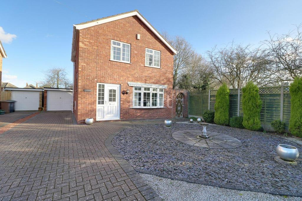 3 Bedrooms Detached House for sale in Vanwall Drive, Waddington