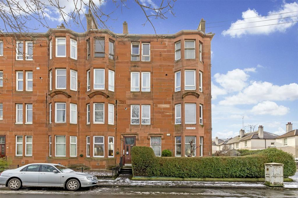 1 Bedroom Flat for sale in Flat 0/1, 91 Barlogan Avenue, Glasgow, Lanarkshire, G52