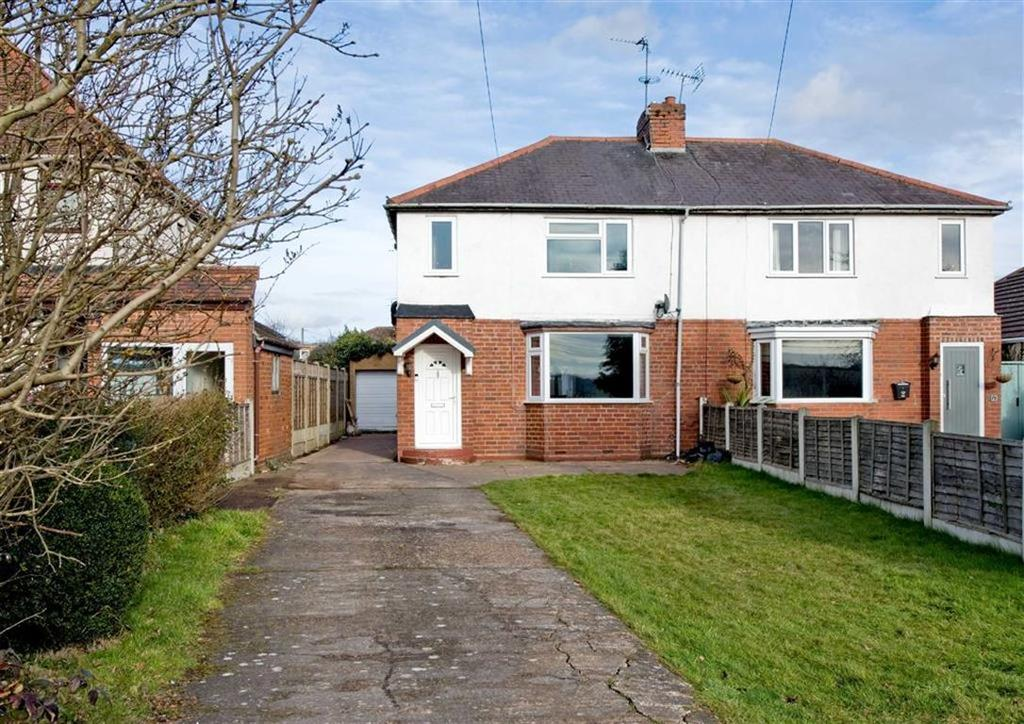 2 Bedrooms Semi Detached House for sale in 74, Bridgnorth Road, Wombourne, Wolverhampton, South Staffordshire, WV5