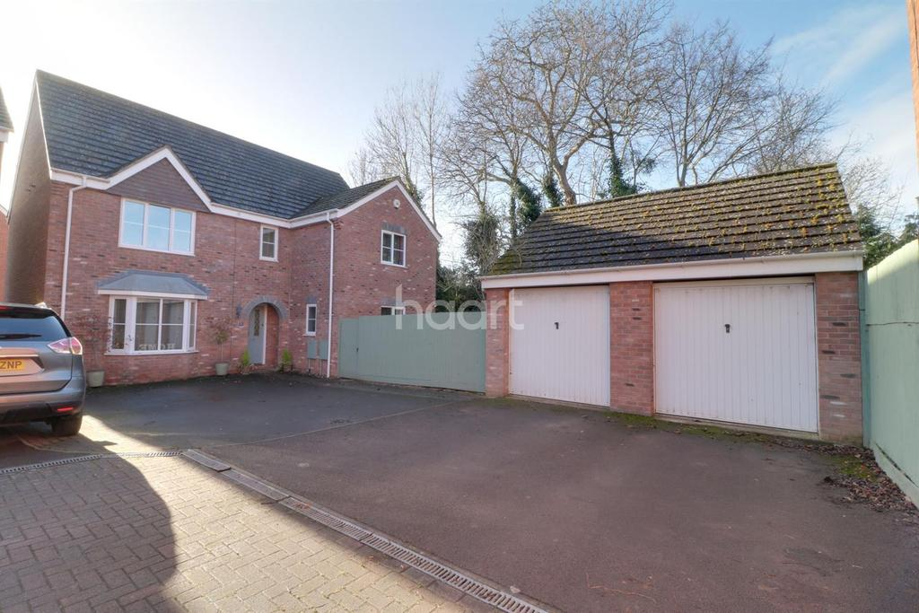 4 Bedrooms Detached House for sale in Lilac Drive, Monmouth, Monmouthshire