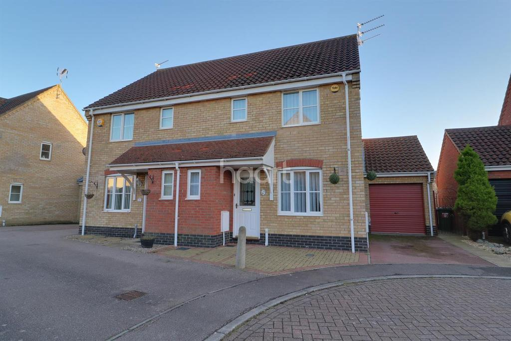 3 Bedrooms Semi Detached House for sale in Galley Close