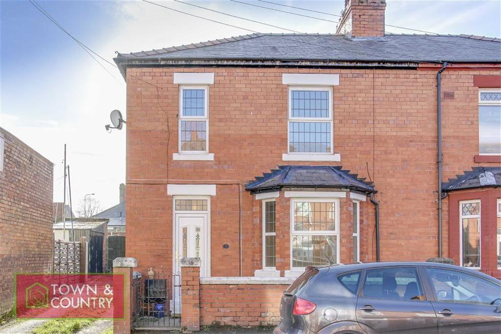 3 Bedrooms Semi Detached House for sale in Pennant Street, Connah's Quay, Deeside, Flintshire