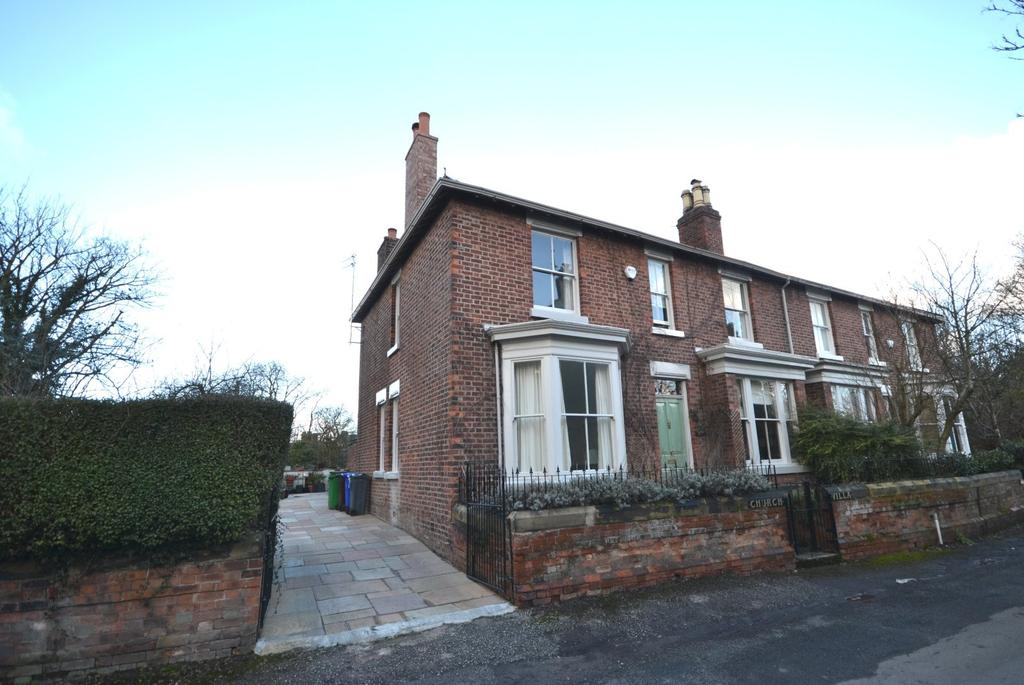 4 Bedrooms Semi Detached House for sale in Church Villa, Ford Lane, Northenden